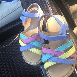 Other - Multi Color sandals